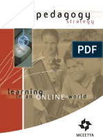 ICT Learning Online World Pedagogy Strategy
