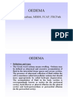 Dampness - Oedema