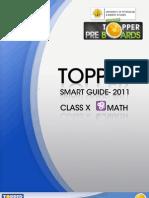 Topper Smart Guide-2010 Class-x Math
