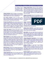 RETAIL VISION One Page Category Management Guide