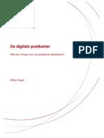 Digitale Postkamer - De Unisys Oplossing