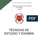 Tecnicas de Estudio y Examen