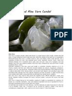 Iced Aloe Vera Cendol