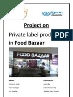 Private Label @ FOOD BAZAAR