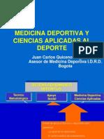 Presenta Medicina Deportiva a Educacion Fisica