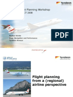 5c1 - Flight Planning From a Regional) Airline Perspective MKoechle