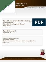Ekaterina Bazyka Market Update [SF] MIAMI BEACH 33154