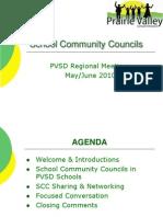 SCC May-June 2010 Regional Meetings