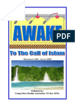 Awake - To the Call of ISLAAM 1431
