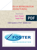 Bypass of Refrigerator Manufacturing