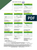 2011-2012 MPS Calendar