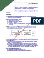 Biologia Selectividad Examen 3 Resuelto Castilla y Leon Www.siglo21x.blogspot