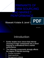 IB2 GrpB L5 Determinents of Inter-firm Sourcing and Market Performance - Roy Teh