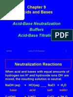 Acids, Bases + Neutralization