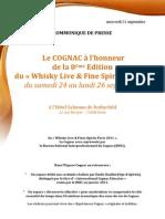 Whisky Live 2011 - Paris - BNIC Invitation