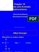 Branched Chains and Isomers
