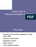 Power Shift of Telecommunications in India (2)