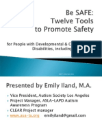 Emily Iland Webinar with Autism NOW September 6, 2011