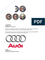 Logos of Car