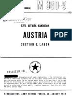 Civil Affairs Handbook Austria Section 9