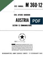Civil Affairs Handbook Austria Section 12