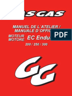Gasgas Manual Atelier 2T 2006 Fr