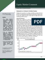 Rationale for a Defensive Portfolio Position - September 22, 2011