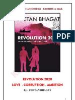 Chetan Bhagat Books Revolution 2020 Pdf In Hindi