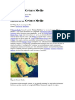 Historia de Oriente Medio