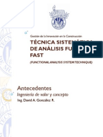 Tecnica Sistematica de Analisis Funcional FAST