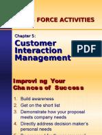Ch05 - Customer Interaction Management