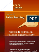 Ch08 - Sales Training