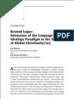 Bialecki & Hoenes - Introduction Beyond Logos