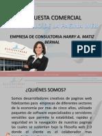 Propuesta Comercial Empresa de Consultoria Harry M.