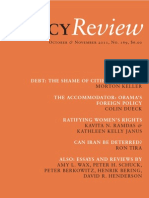 Policy Review - October & November 2011, No. 169