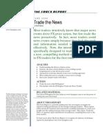 Trade the News