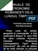 Erika Suhay - Manuale de Astronomie Romanesti de-A Lungul Timpului