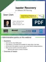 Webinar Replay 0921 Sean Clark Vmware Dr Expert Checklist