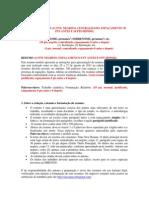 III COEMCO Modelo e Normas Resumo