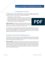 Www.noblesys.com Files PDF White Papers WP 10-Advantages-Of-Fundraising-Technology
