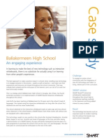 SMART Ballakermeen High School Case study