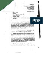 CBI's Reply to TRAI on 2G Spectrum Case