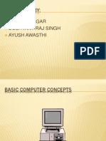 Basic Computer Concepts Avi Bhatnagar