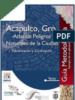 Atlas de Peligro Naturales de Acapulco 2003