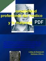 Responsabilidad Del Profesional médico