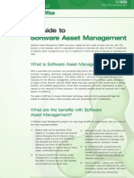 A Guide to Software Asset Management