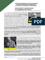 Sociologia TXT Adorno Horkheimer