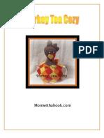Turkey Tea Cozy - Entrelac Crochet Pattern