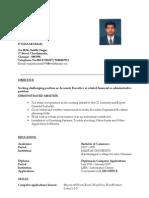 Resume Vijay