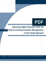 Learning Outcomes Management White Paper